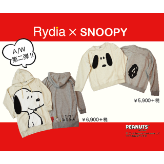 ◎The Rydia X SNOOPY second◎
